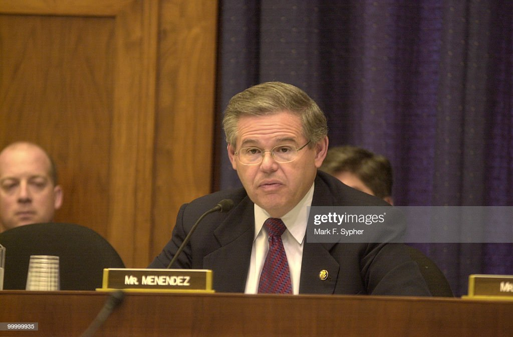 Robert Menendez : News Photo