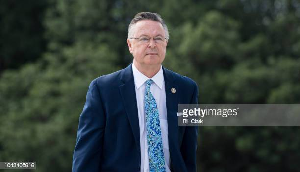 Rep Rod Blum RIowa walks up the House steps of the Capitol for the final votes of the week on Friday Sept 28 2018