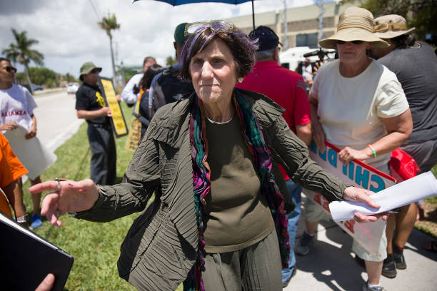 FL: Democratic Representatives Tour Facility For Migrant Children In Homestead, FL