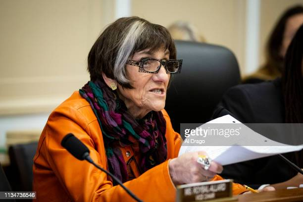 Rep Rosa DeLauro chairwoman of the House Appropriations Subcommittee on Labor Health and Human Services Education and Related Agencies questions...