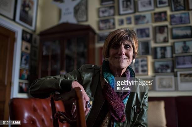 Rep Rosa DeLauro DConn poses in her office on Feb 25 2016