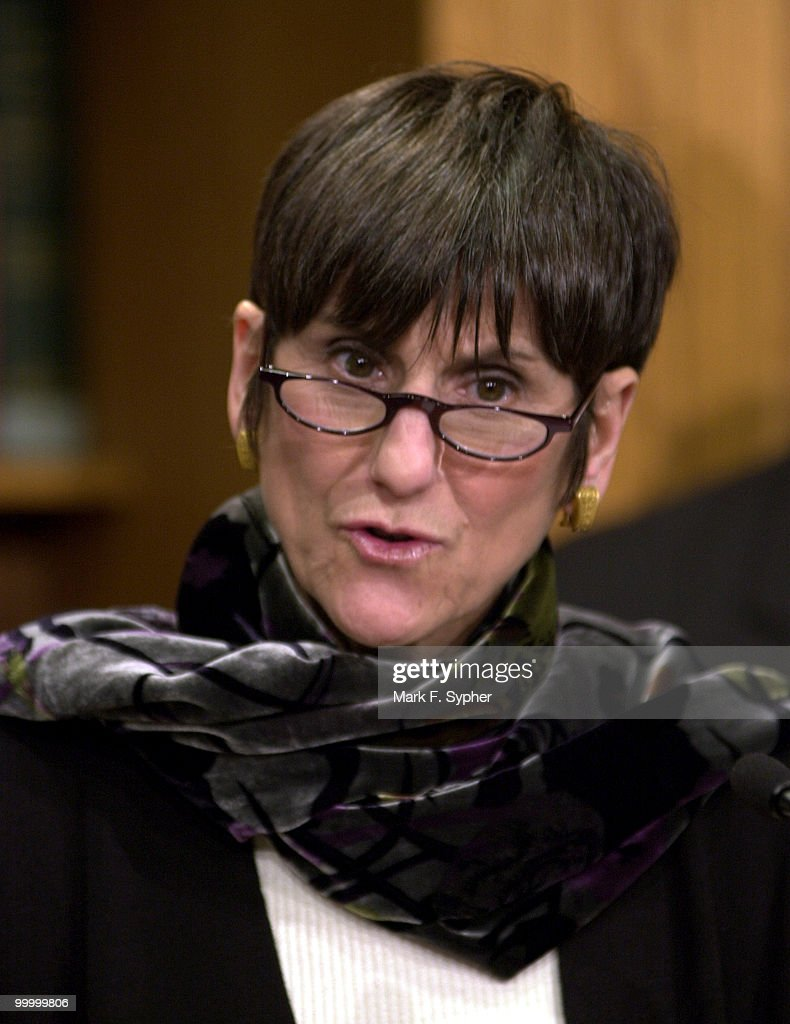 Rep. Rosa DeLauro (D-CT) speaks at a news conference on the GOP budget and Social Security in the House Radio and TV Gallery on Tuesday.