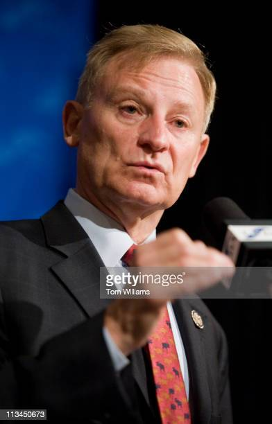 May 2: Rep. Spencer Bachus, R-Ala., Chairman of the House Financial Services Committee, delivers remarks at the Independent Community Bankers of...