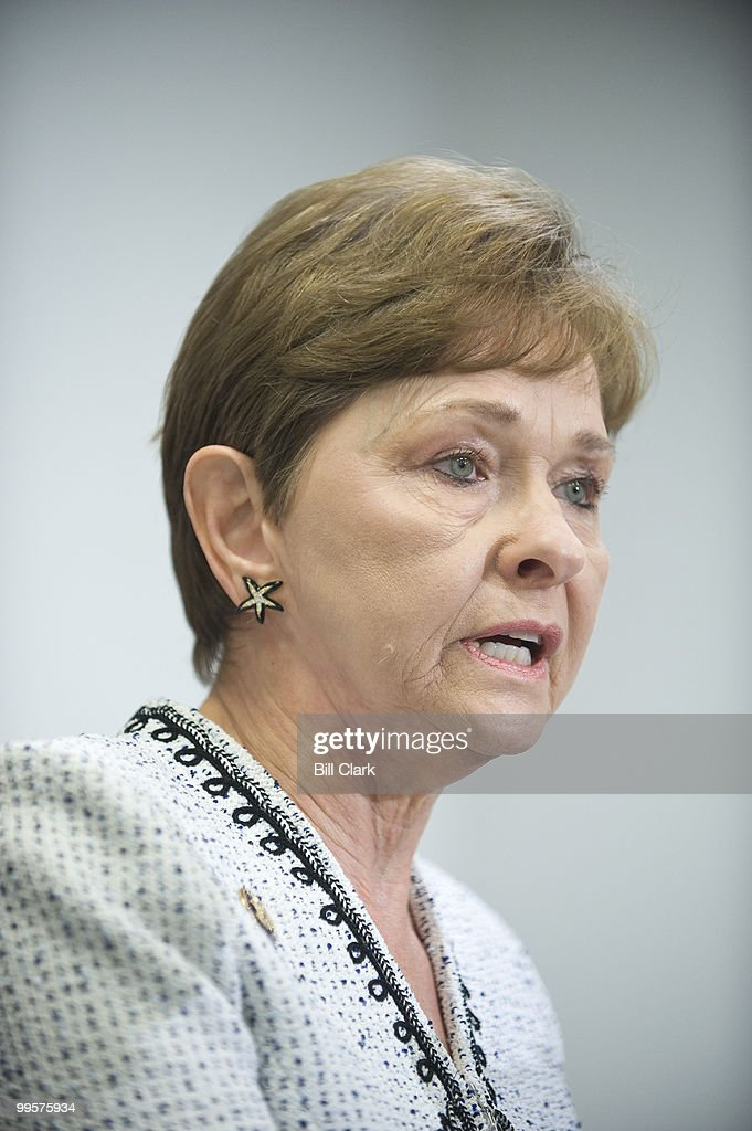 Rep. Sue Myrick, R-N.C., participates in a news conference on Wednesday, Oct. 14, 2009, to 'make public a national security threat on Capitol Hill.'