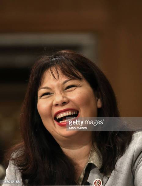 S Rep Tammy Duckworth testifies during a Senate Foreign Relations Committee on the Convention on the Rights of Persons with Disabilities on Capitol...