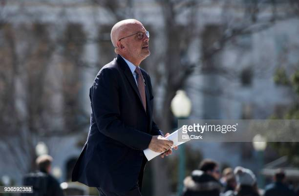 Rep Ted Deutch DFla walks up the House steps for the final vote of the week on Thursday March 22 2018 Congress headed home for the twoweek Easter...