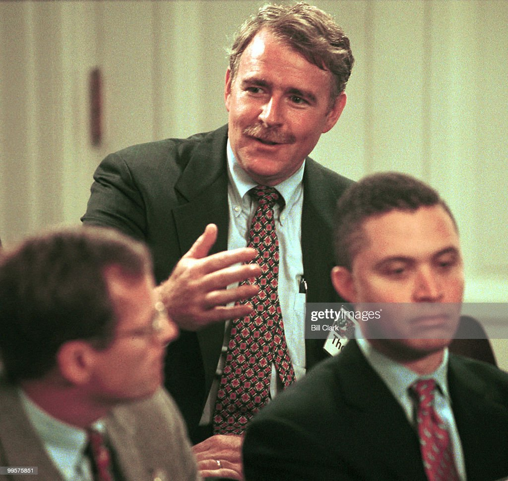 Rep. Thomas Barrett talks about life as a Congressman during taping of a program for MSNBC.