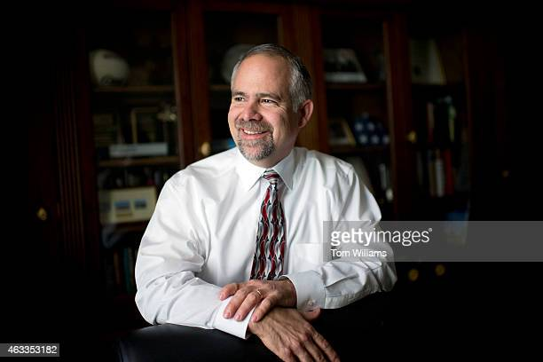 Rep Tim Huelskamp RKan poses for a picture in his Longworth office February 13 2015