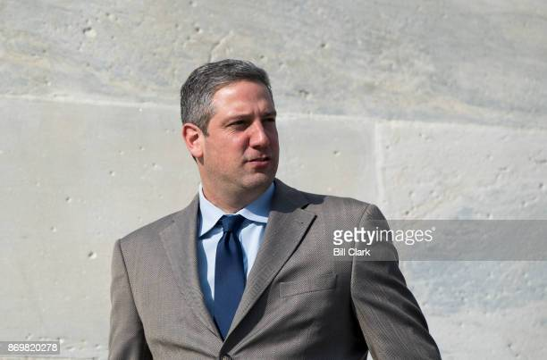 Rep. Tim Ryan, D-Ohio, walks down the House steps after voting in the Capitol on Friday, Nov. 3, 2017.