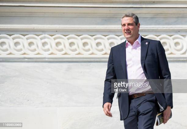 Rep. Tim Ryan, D-Ohio, walks down the House steps of the Capitol after the final votes of the week on Friday, Sept. 20, 2019.