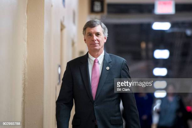 Rep Tom Rice RSC arrives for the House Republican Conference meeting in the Capitol on Tuesday Jan 9 2018