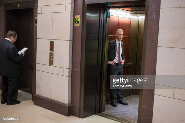 Rep Trey Gowdy RSC leaves a meeting of the House Intelligence Committee in the Capitol Visitor Center after Chairman Devin Nunes RCalif announced he...