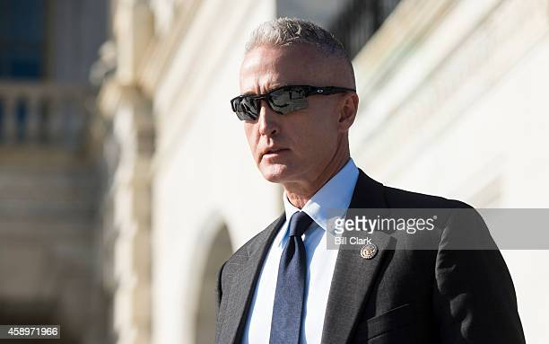 Rep Trey Gowdy RSC leaves the Capitol following the last votes of the week on Friday Nov 14 2014