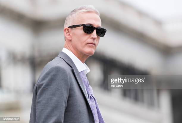 Rep. Trey Gowdy, R-S.C., walks down the House steps as he leaves the Capitol for the Memorial Day recess following the final votes of the week on...