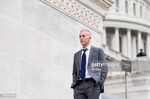 Rep. Trey Gowdy, R-S.C., walks down the House steps at the Capitol after a series of votes on repeal and replace of Obamacare on Thursday, May 4,...