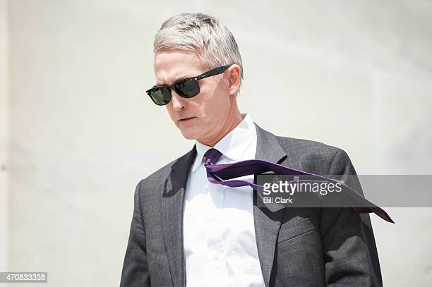 Rep Trey Gowdy RSC walks down the House steps following votes on Thursday April 23 2015