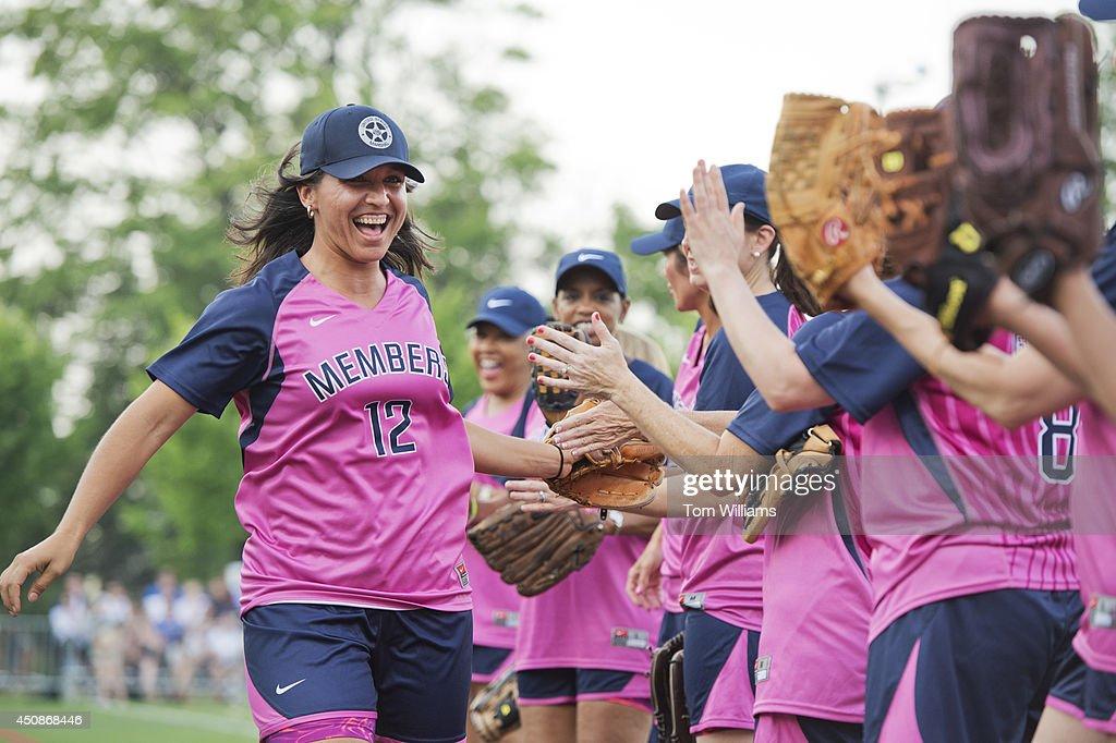 Congressional Women's Softball : News Photo
