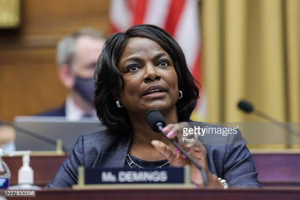 Rep. Val Demings speaks during the House Judiciary Subcommittee on Antitrust, Commercial and Administrative Law hearing on Online Platforms and...