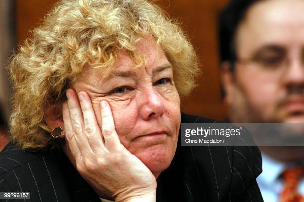 """Rep. Zoe Lofgren, D-Ca., at a Africa Agriculture/Biotechnology/Research Subcommittee hearing on """"Plant Biotechnology Research and Development in..."""