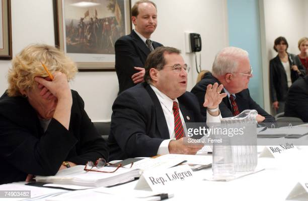 'PARTIALBIRTH' ABORTION CONFERENCE COMMITTEE Rep Zoe Lofgren DCalif Rep Jerrold Nadler DNY and House Judiciary Chairman F James Sensenbrenner Jr RWis...