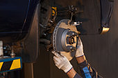 Repair disc brake.
