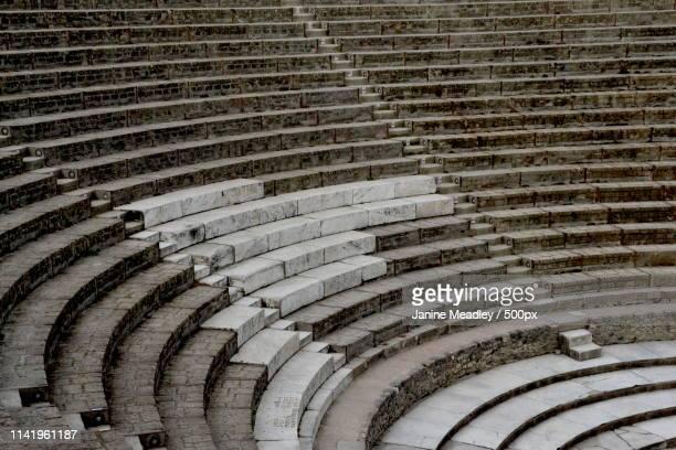 repaired ampitheatre - 円形劇場 ストックフォトと画像