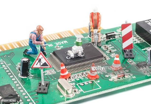 repairing computer equipment