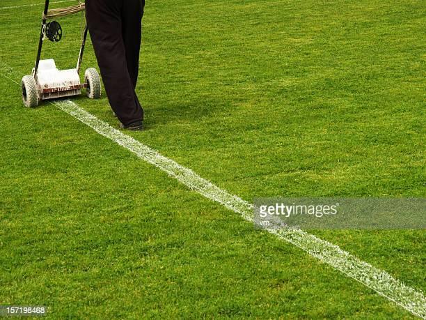 Reparar línea de campo de fútbol americano