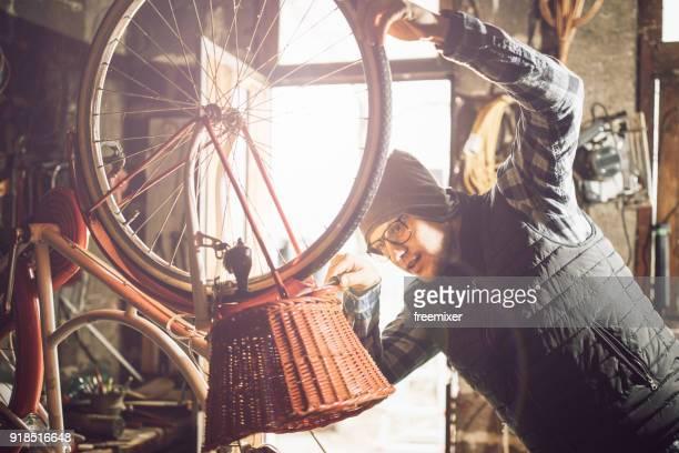 Repairing the bike