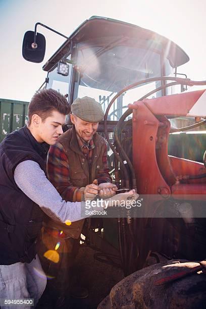 Repairing the Tractor