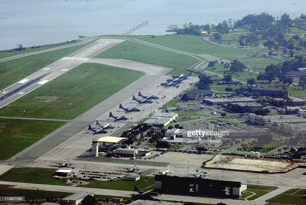 Repairs to Keesler Air Force Base from damage caused by