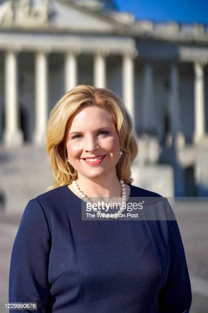 Rep-elect Ashley Hinson poses for a portrait outside the U.S. Capitol in Washington, District of Columbia, on December 3, 2020.