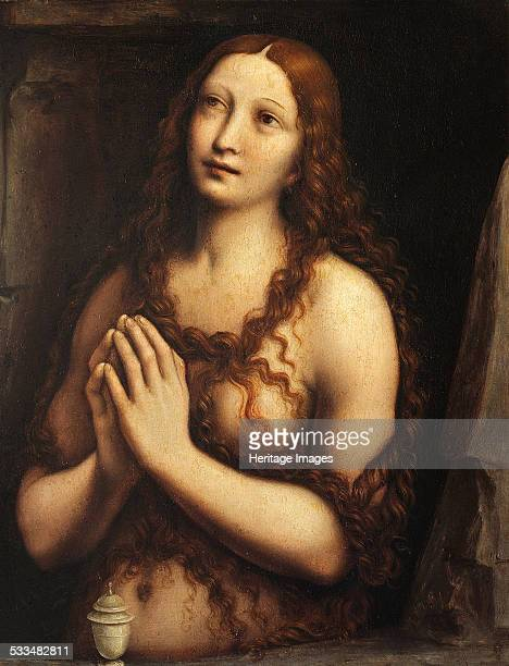 Repentant Mary Magdalene, First Half of 16th cen. Found in the collection of State Hermitage, St. Petersburg.