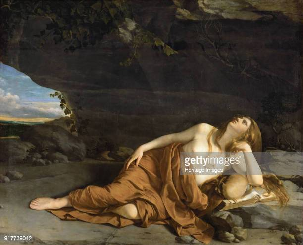 Repentant Mary Magdalene. Found in the Collection of Art History Museum, Vienne.