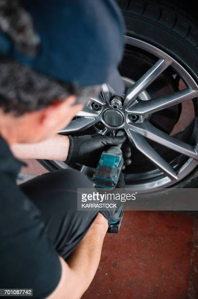 Replacement of wheel
