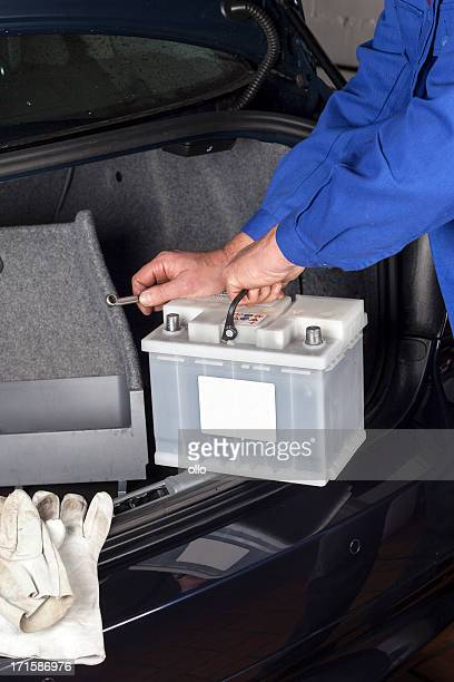 Replacing a car battery