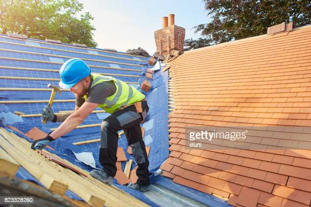 replacing roof tiles