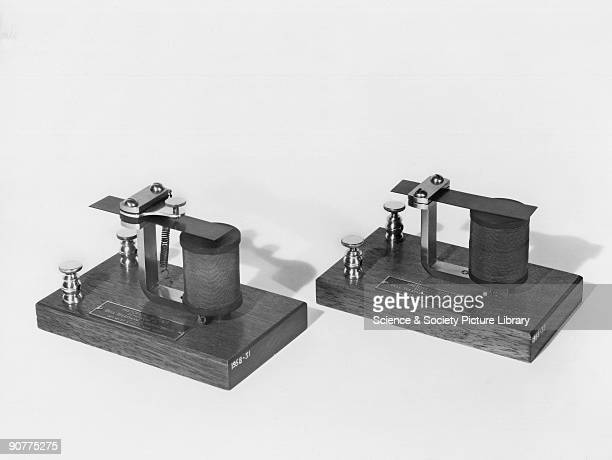 Replica After experimenting with various acoustical devices Bell produced the first intelligible telephonic transmission with a message to his...