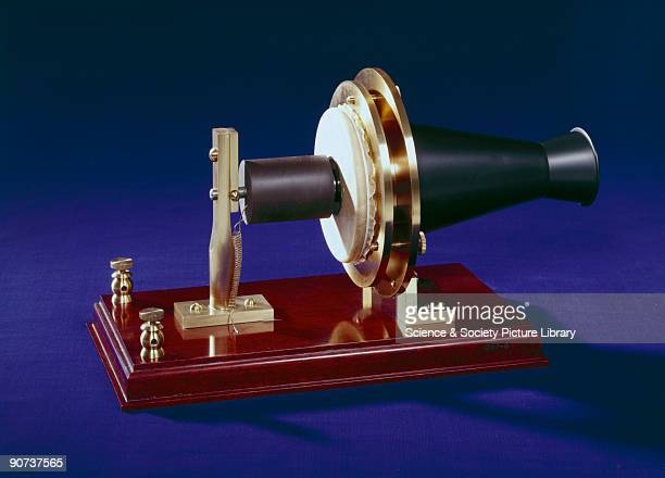 Replica Alexander Graham Bell's telephone was the star attraction at the American Centennial Exhibition in Philadelphia in June 1876 Sir William...
