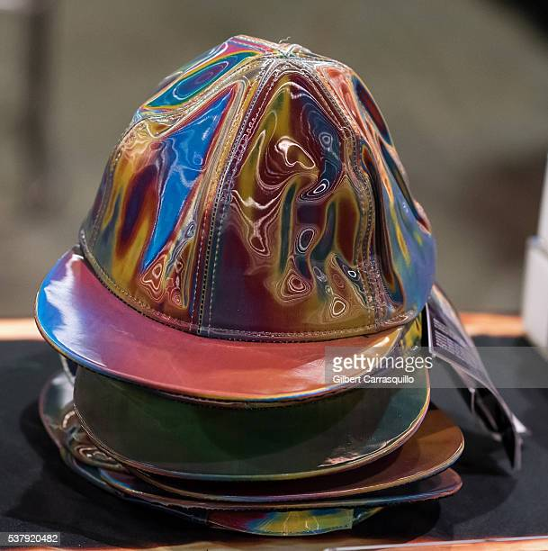 Replica Back to the Future Part II Marty McFly Cap at Wizard World Comic Con Philadelphia 2016 Day 1 at Pennsylvania Convention Center on June 2 2016...