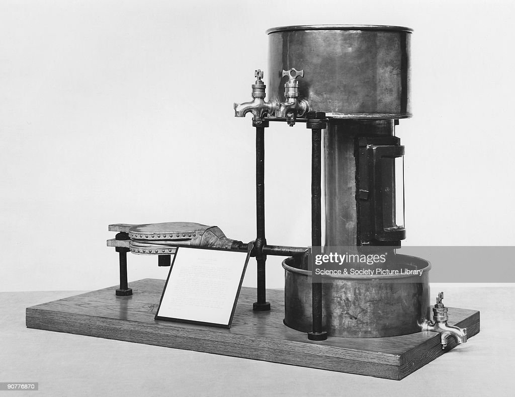 Clanny�s first safety lamp for mines, c 1813. : News Photo
