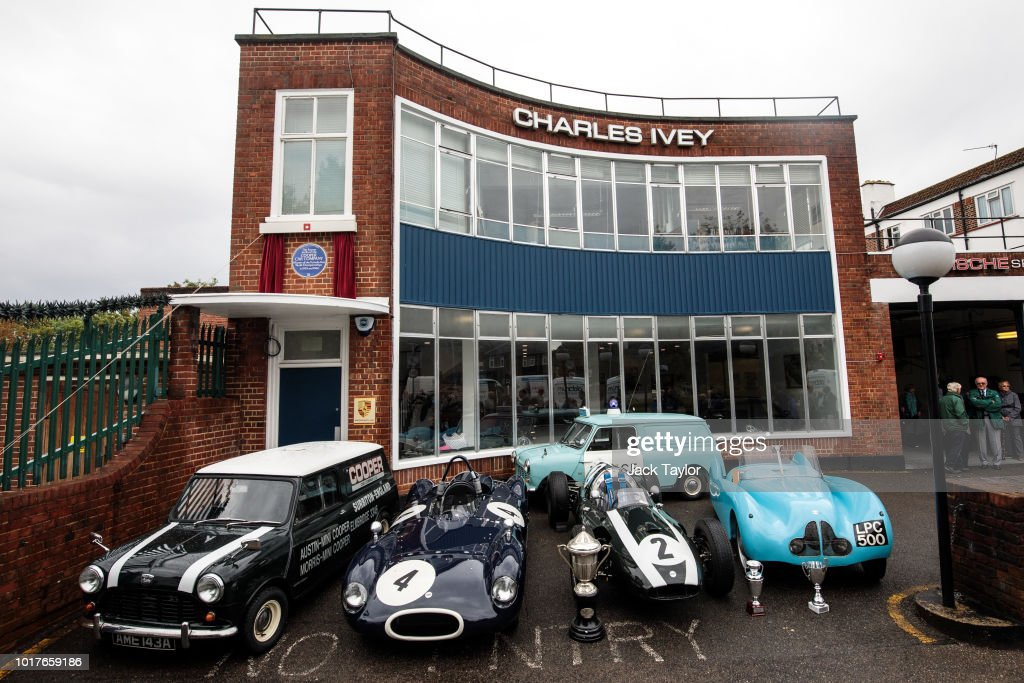 English Heritage Honour The Cooper Car Company With A Blue Plaque