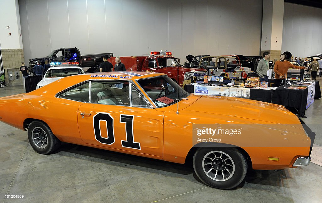 A replica of the \'General Lee,\' used in the Dukes of Hazzard ...