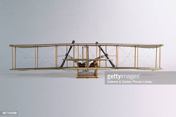Replica Orville Wright and Wilbur Wright made the world�s first controlled and powered flights on 17th December 1903 at Kitty Hawk North Carolina The...