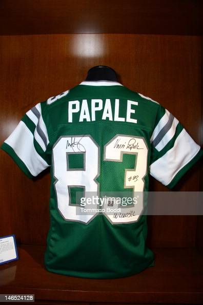 promo code 2b8d7 d977b A replica Philadelphia Eagles football jersey signed by Mark ...