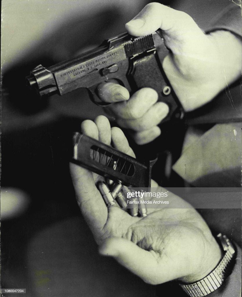 Replica pistols and revolvers on sale at Smith Gun shop
