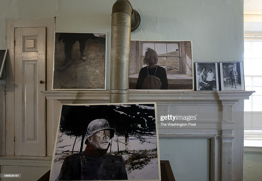 Replicas Of Andrew Wyeth Paintings On Display At The Kuerner Farm On April  7 In Chadds