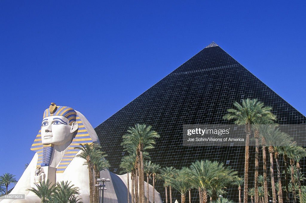 Hotels In Las Vegas Pyramid 59151 99 Replicas Of Sphinx And