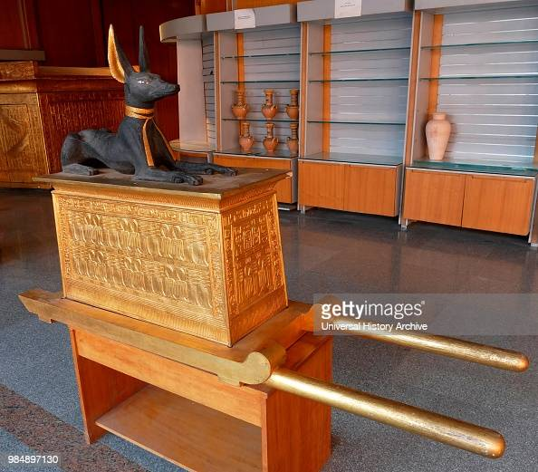 Replication of the Anubis Shrine was part of the grave gods