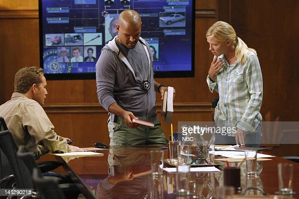 CHASE Repo Episode 103 Pictured Cole Hauser as Jimmy Godfrey Amaury Nolasco as Marco Martinez Kelli Giddish as Annie Frost Photo by Vivian...